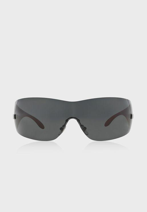 نظارة شمسية بلا اطار