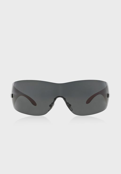 0VE2054 Rimless Sunglasses
