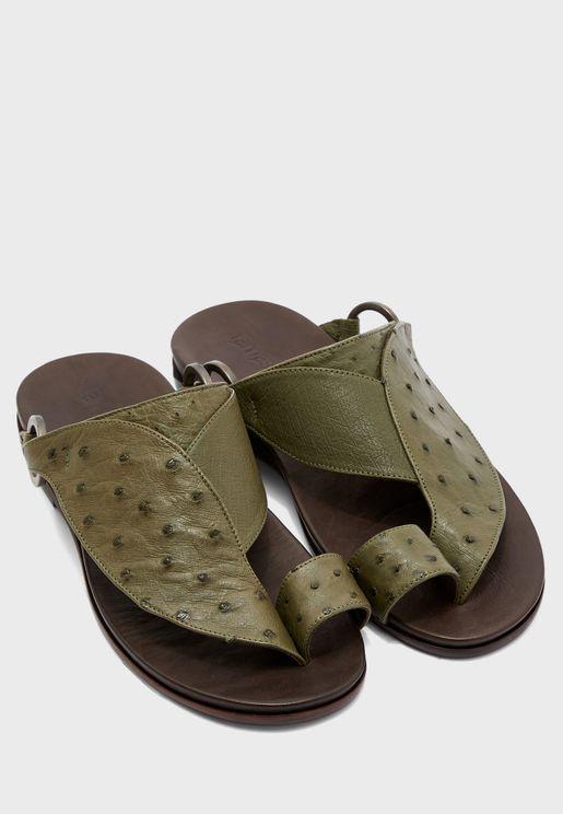 Talh Wide Strap Sandals