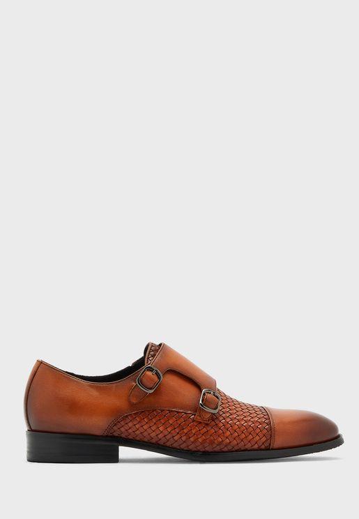 Double Monk Captoe Loafer