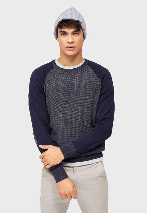 Raglan Knitted Sweater