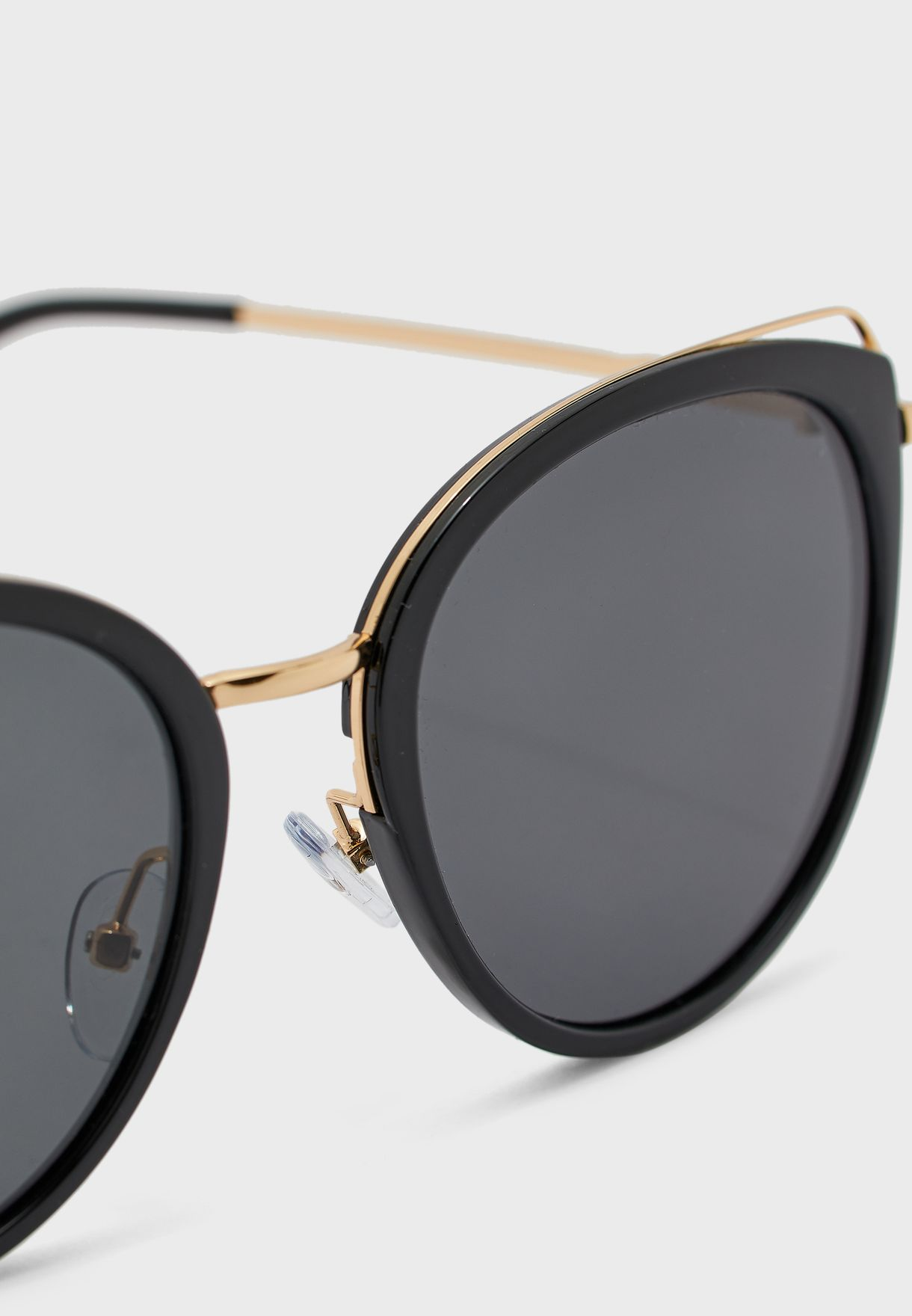 Rounded Cateyes Sunglasses