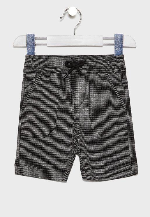 Kids Side Pocket Shorts