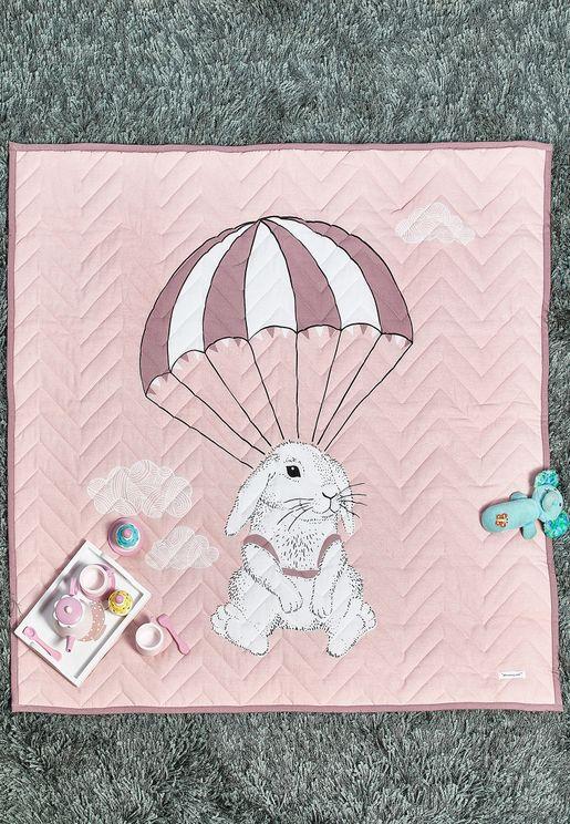 Bunny Foldable Baby Blanket