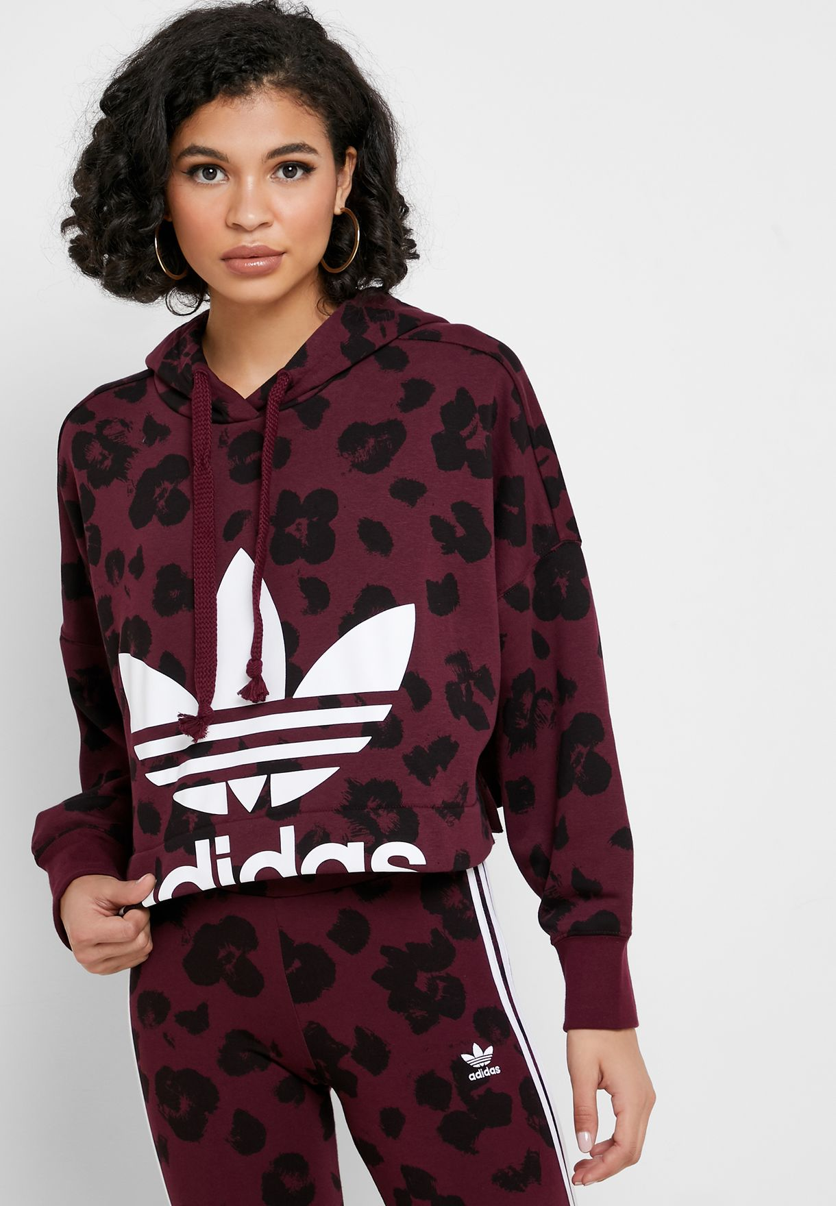 outlet store sale many styles buy good Trefoil Cropped Hoodie