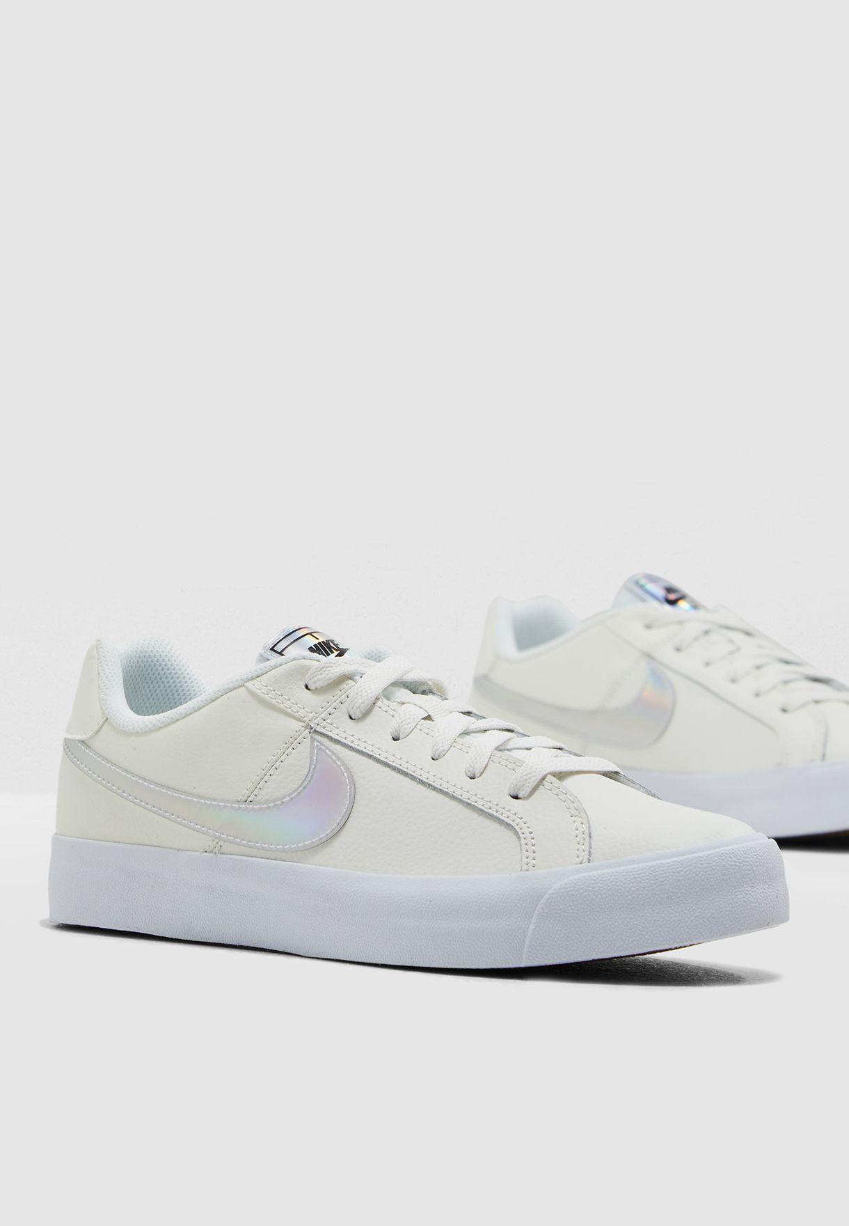 6531a71e3b7a6b Shop Nike white Court Royale AC AO2810-104 for Women in Saudi ...