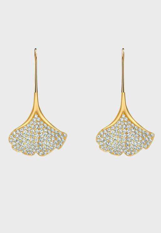 Stunning Ginko Drop Earrings