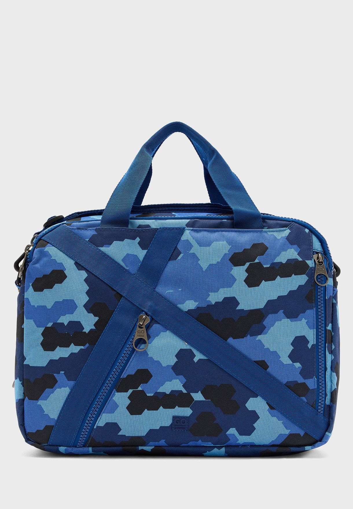 Camo Messenger Bag