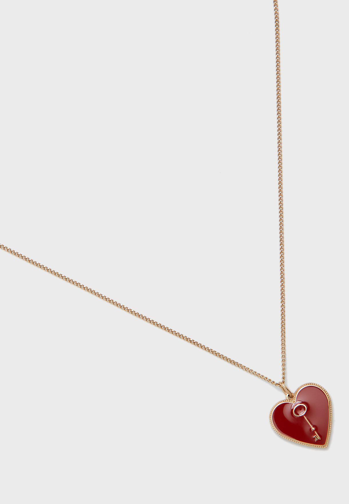 JF03297710 Vintage Motifs Necklace