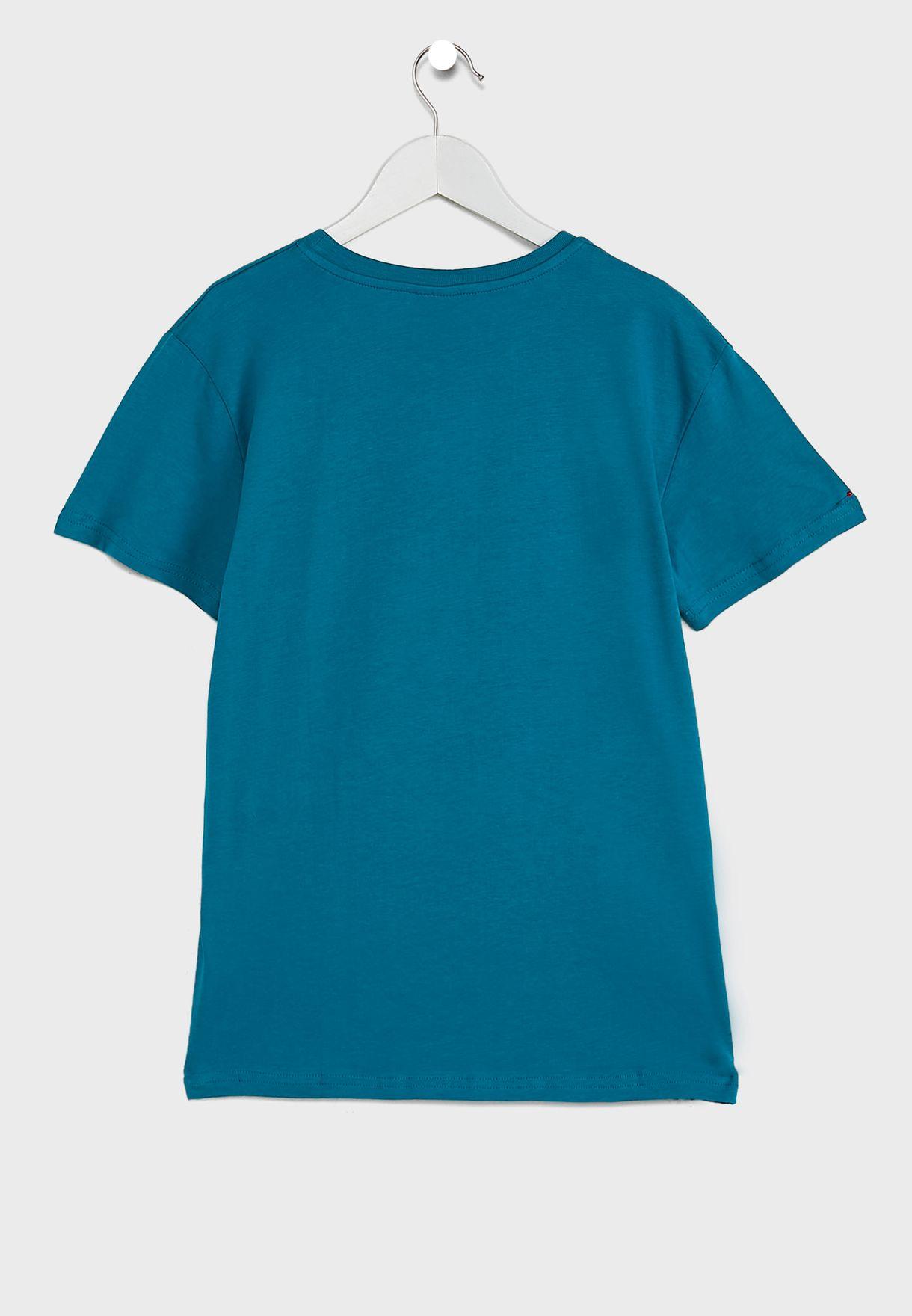 Kids Soccer League T-Shirt & Shorts Set