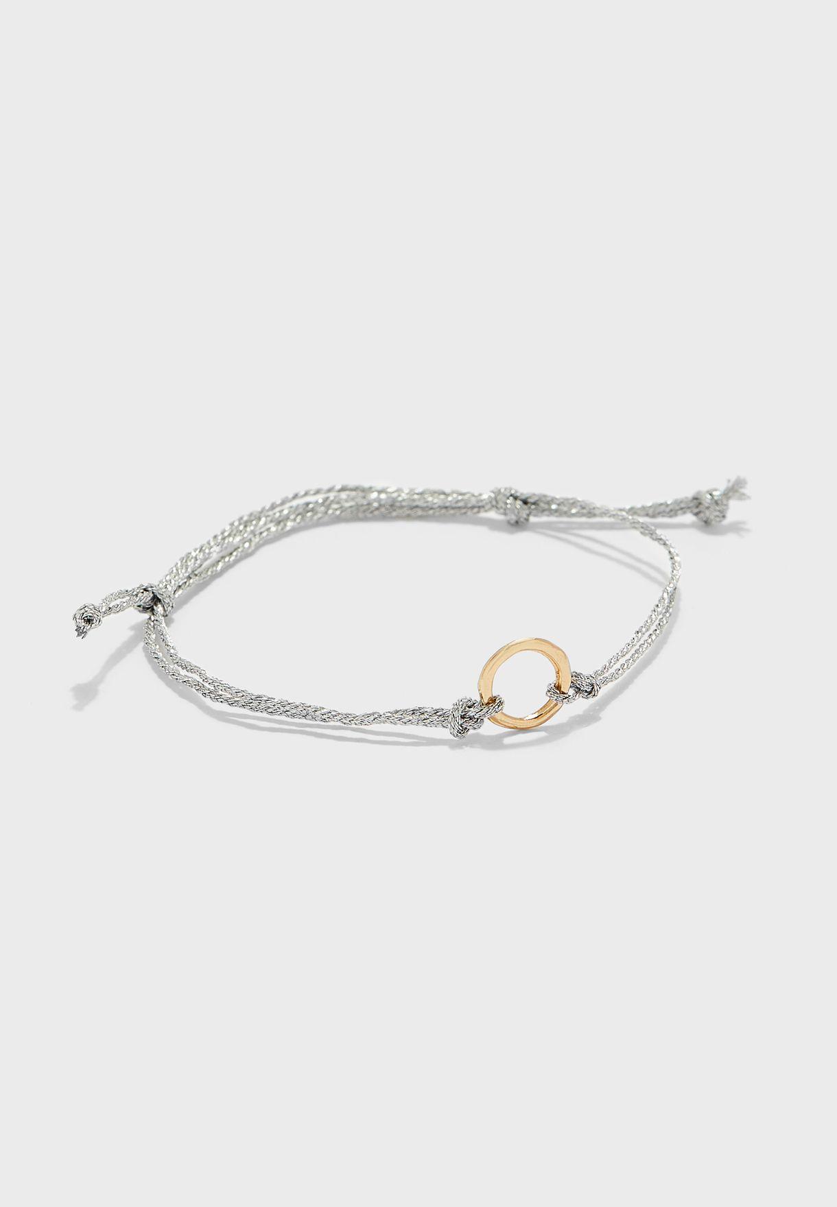 Crescent Thread Bracelet Set