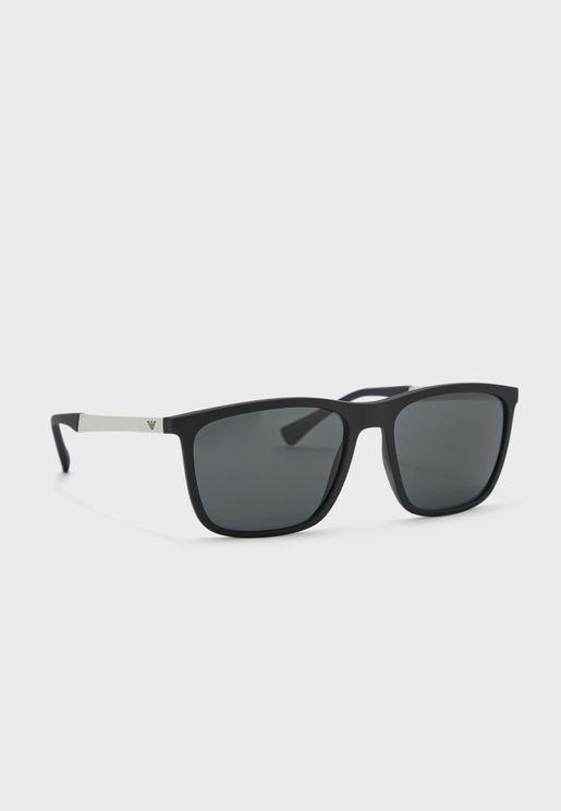 0EA4150 Wayfarer Sunglasses