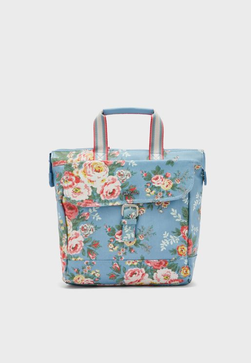 Candy Flowers Buckle Backpack