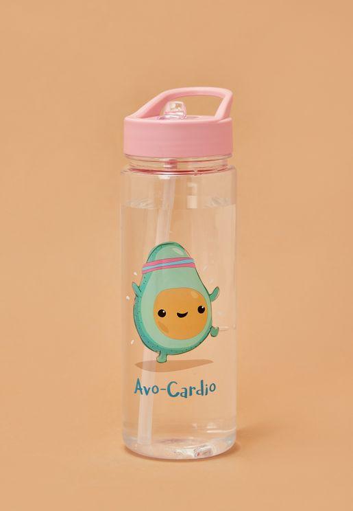Avocardio Water Bottle