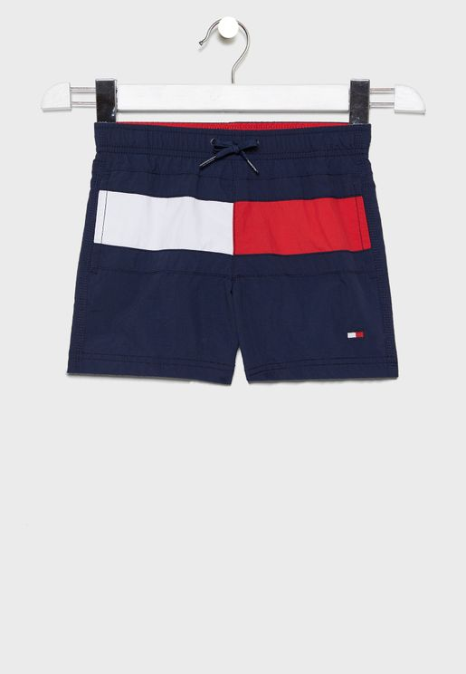 Little Tie Waist Swim Short