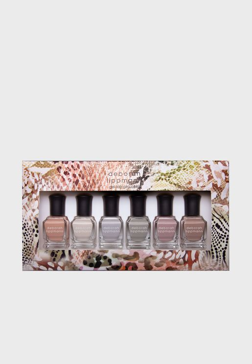 6 Pack Nail Polish Set - Wild Safari