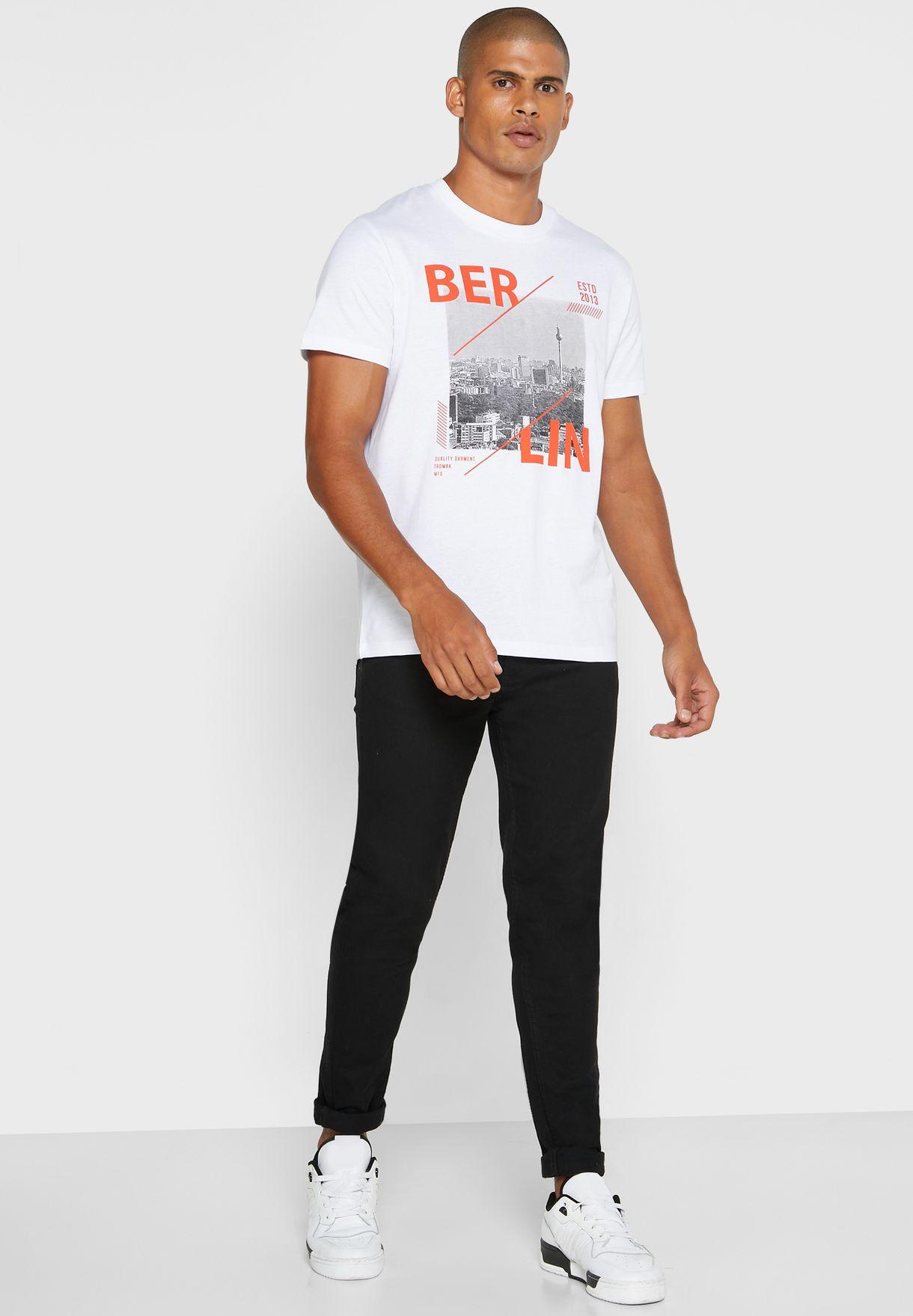 Berlin Crew Neck T-Shirt