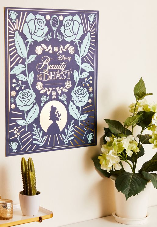 Beauty And Beast Wall Art