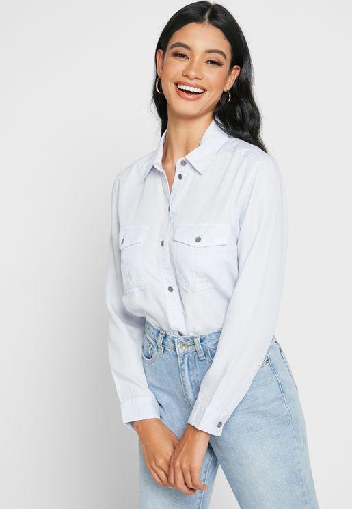 قميص جينز بازرار
