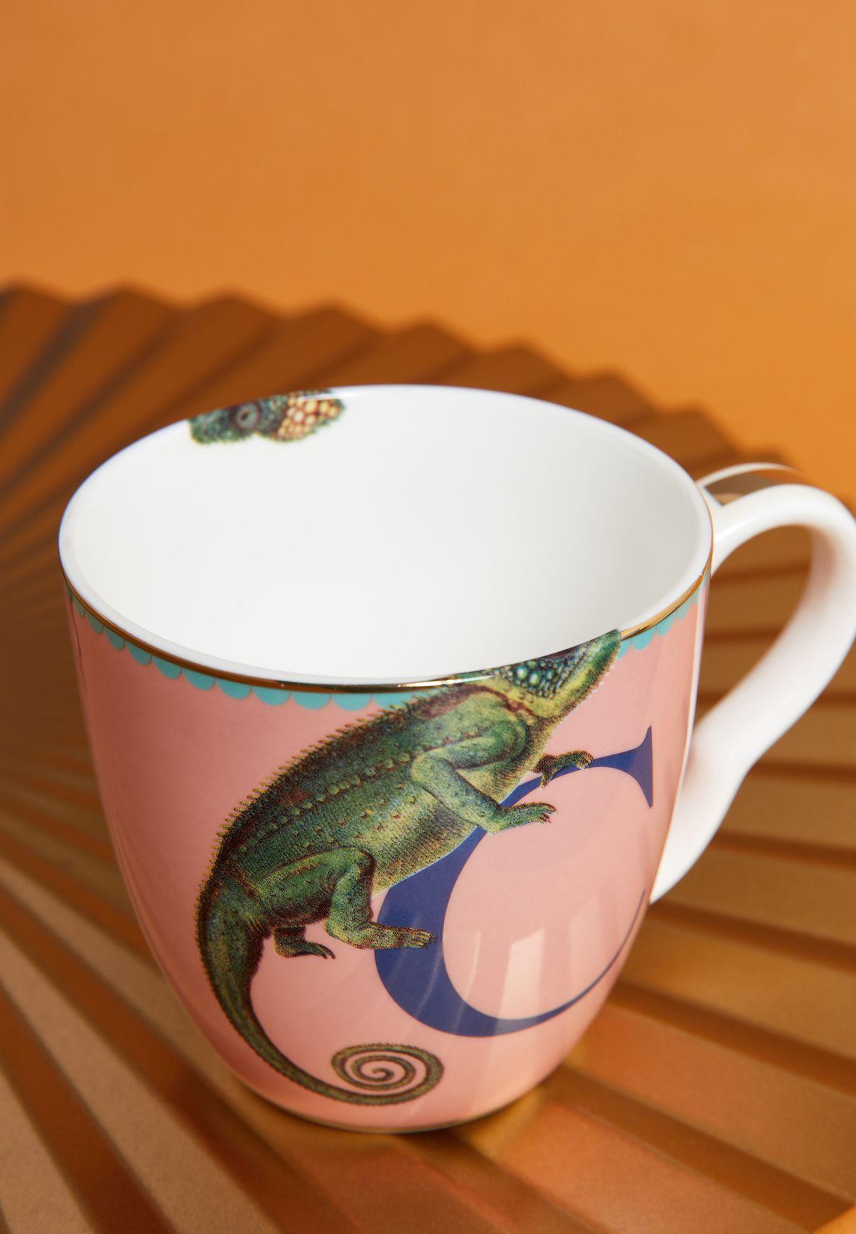Alphabet Mug - Chameleon