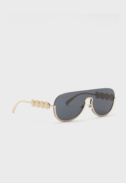 0VE2215 Shield Sunglasses