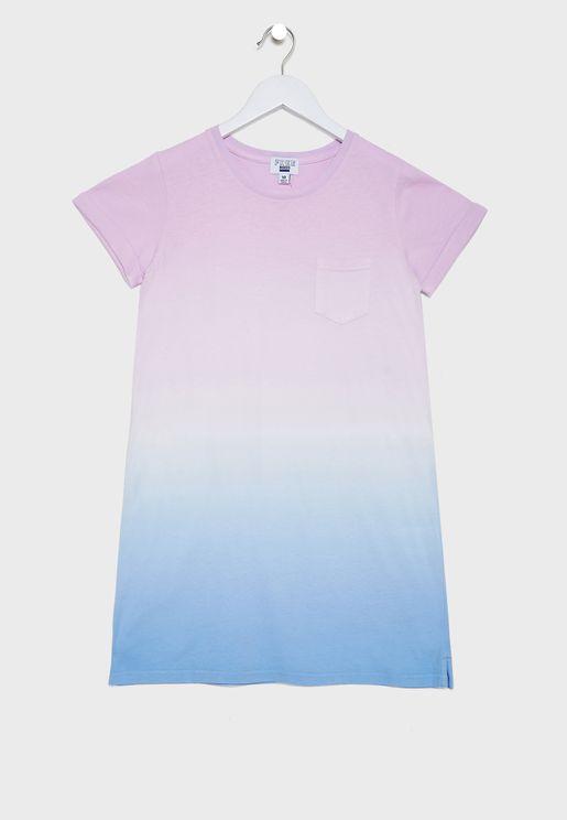Youth Tie Dye Dress