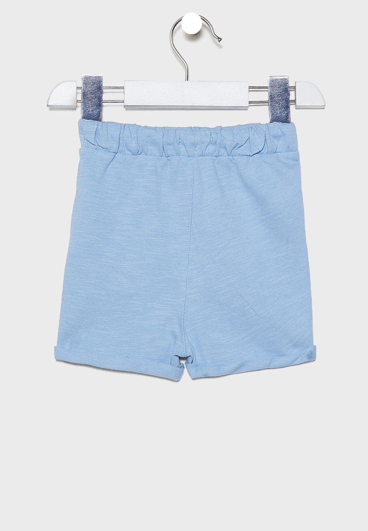 Infant Tie Waist Shorts