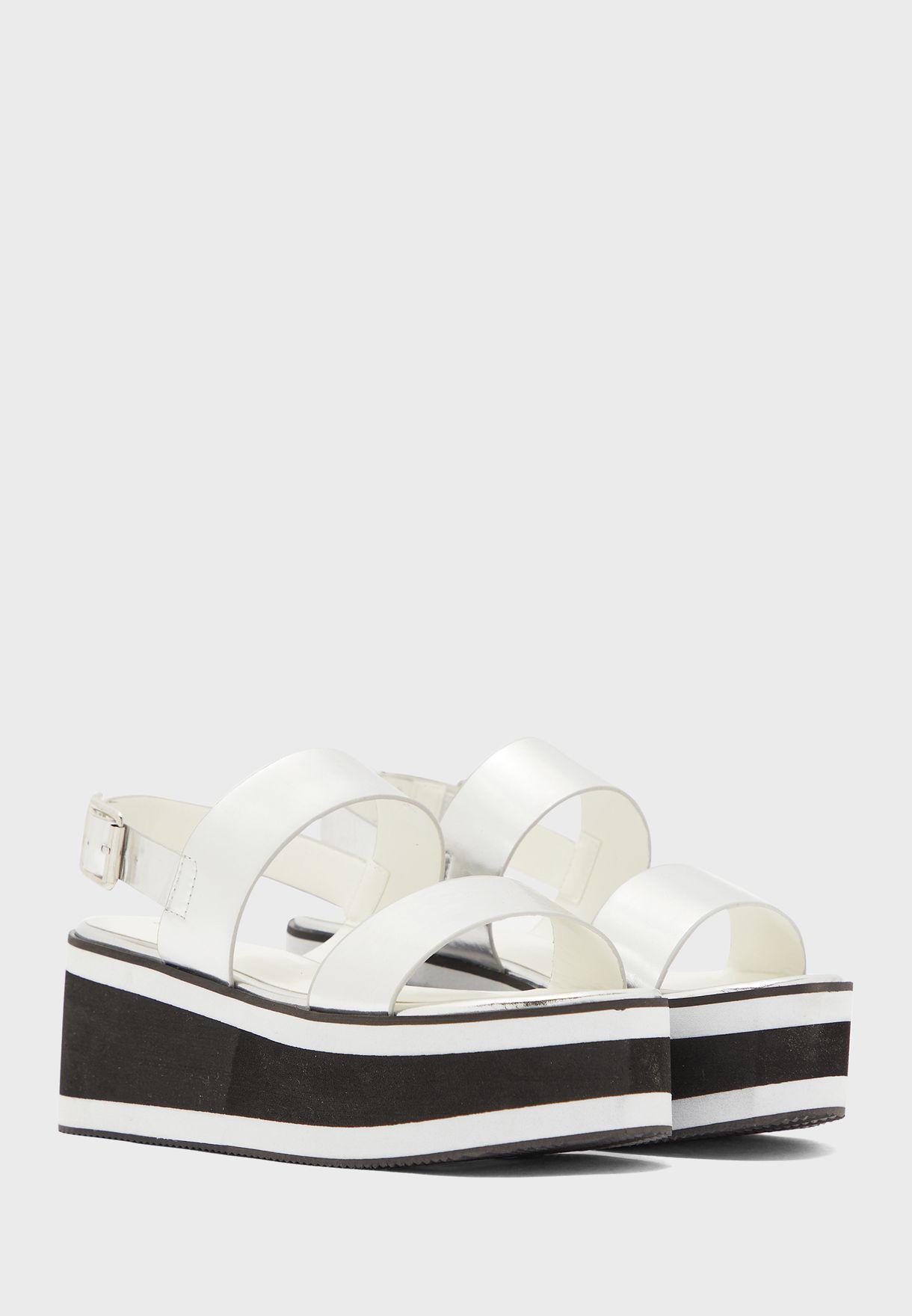 Slingback Wedge Sandal