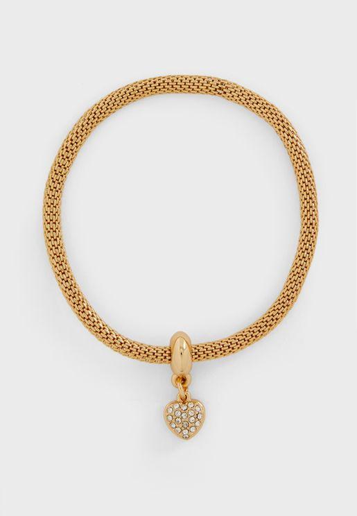 Heart Mesh Bracelet