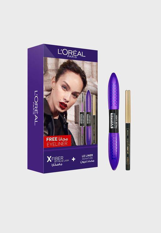 False Lash X-Fiber Mascara + Free Kohl Liner