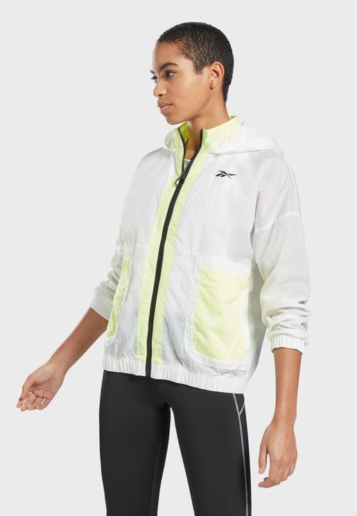 Meet You There Hannah Woven Track Jacket