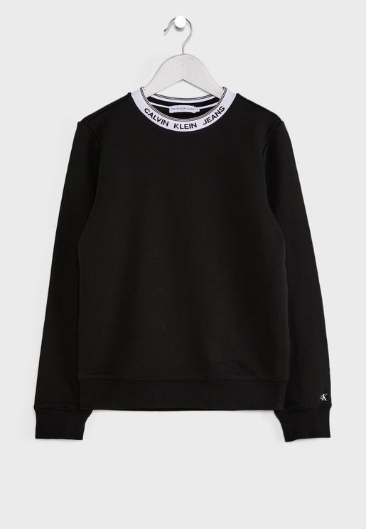 Kids Intarsia Sweatshirt