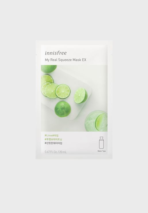My Real Squeeze Mask [Lime] 20ml