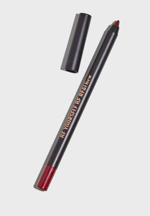 قلم تحديد الشفاه احمر داكن - بي يورسيلف