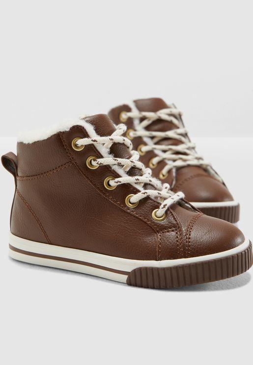 Kids Fleece Lined Sneaker
