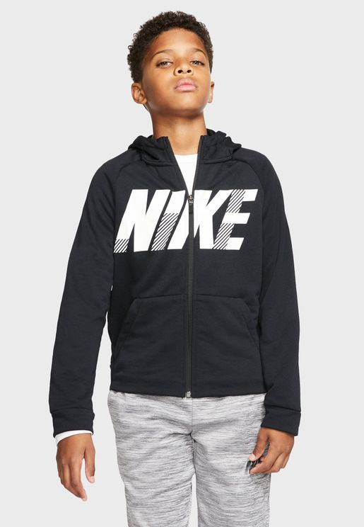 Youth Dri-Fit Graphic Hoodie