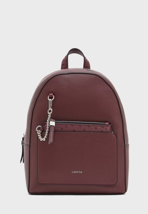 Zip Around Dome Backpack
