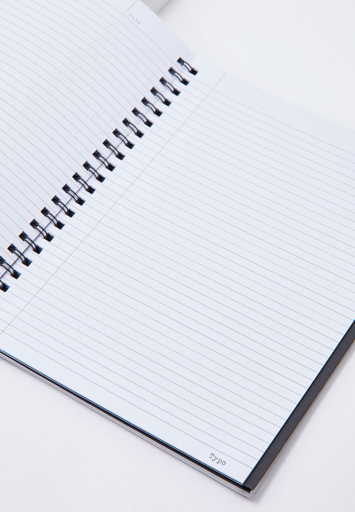 دفتر ملاحظات بقياس A4