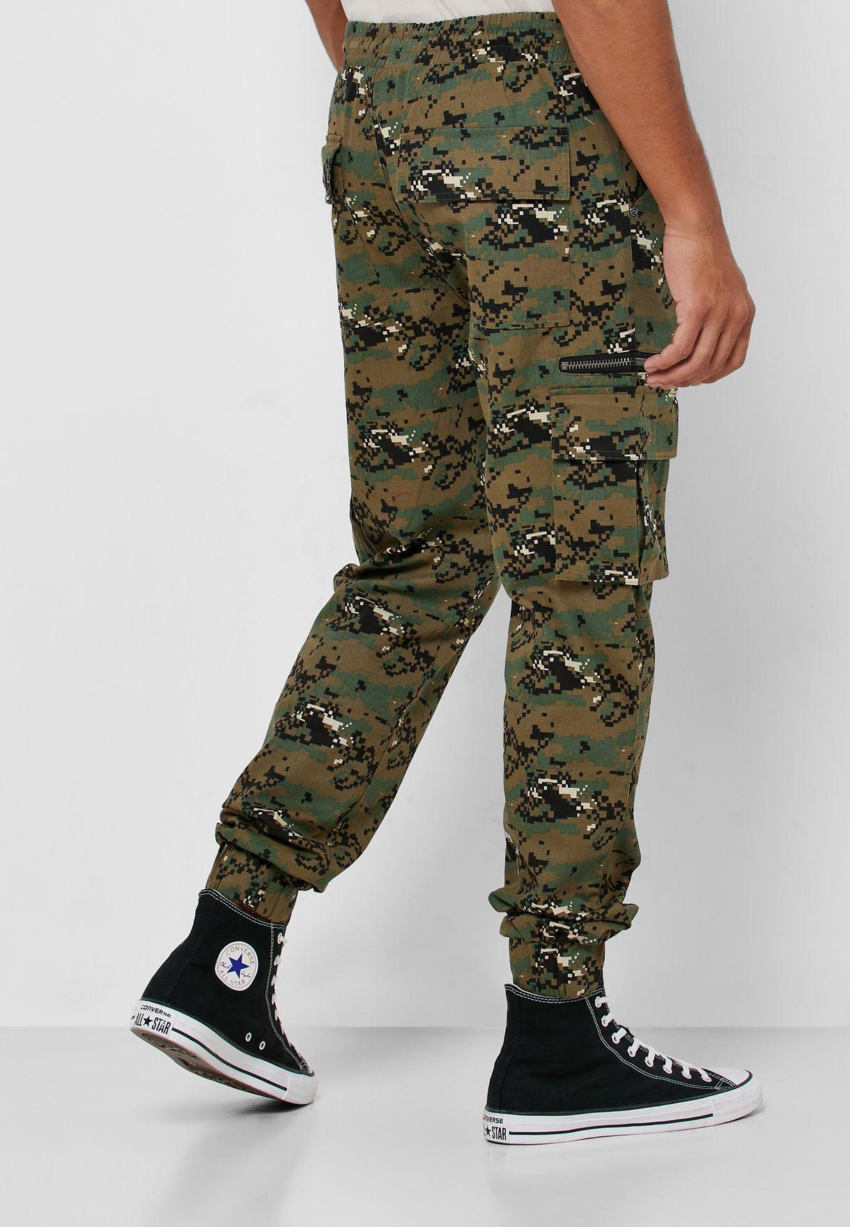 Prime Camo Slim Pants
