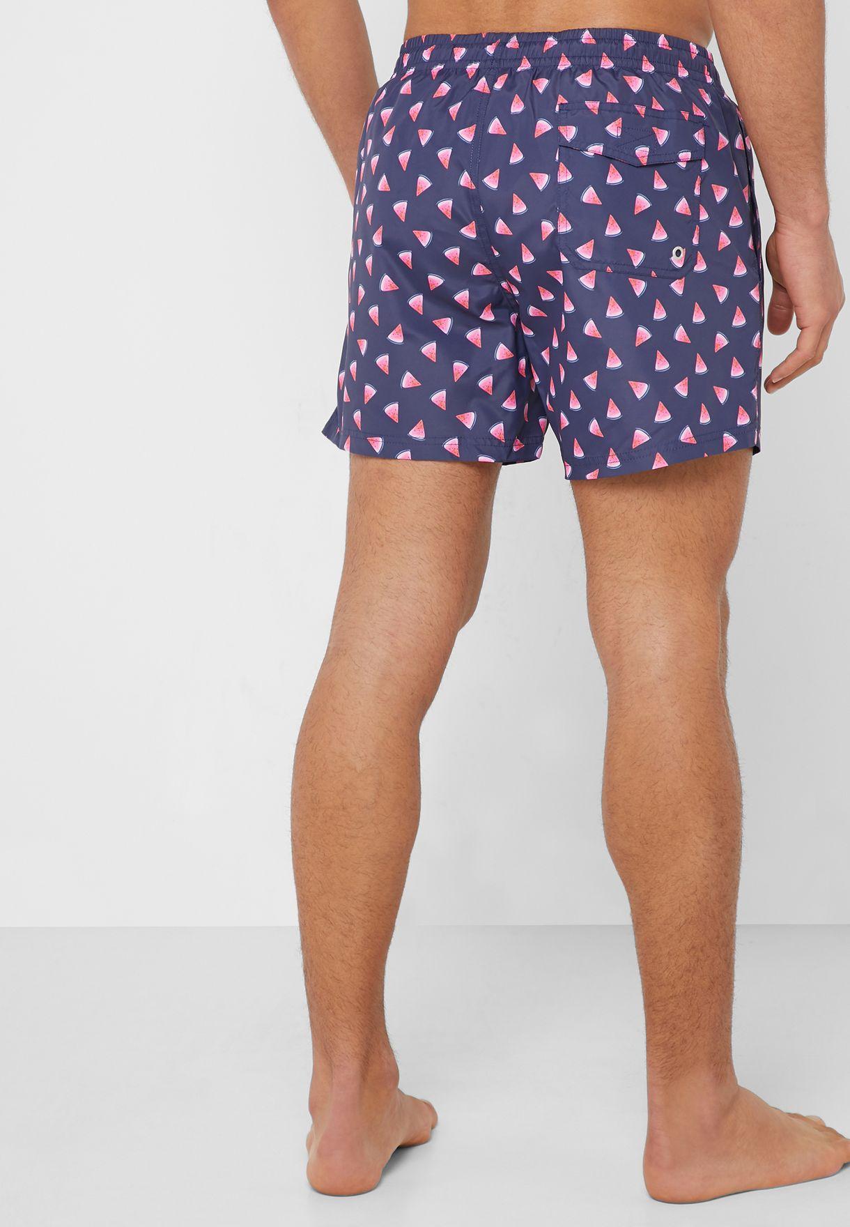 Sandias Printed  Swim Shorts