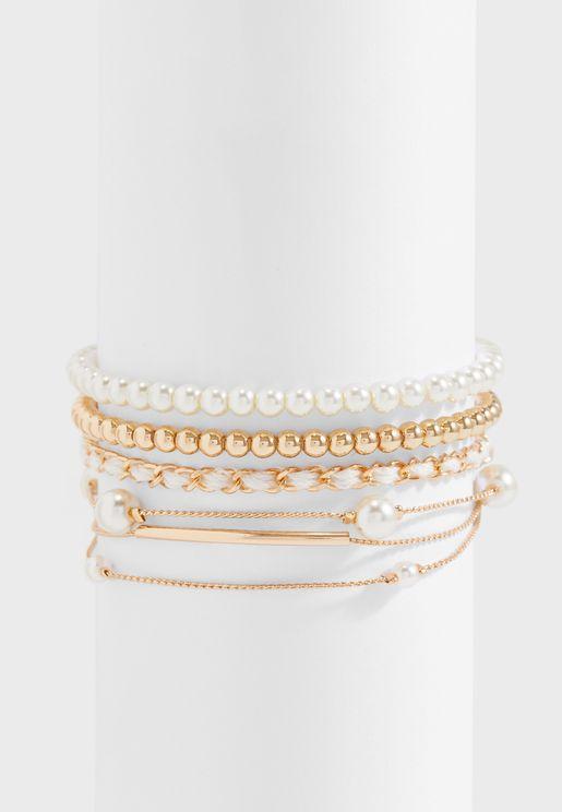 Multipack Larka Bracelets