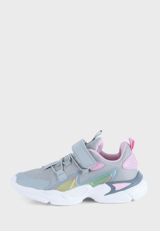 Kids Charlotte Velcro Sneaker
