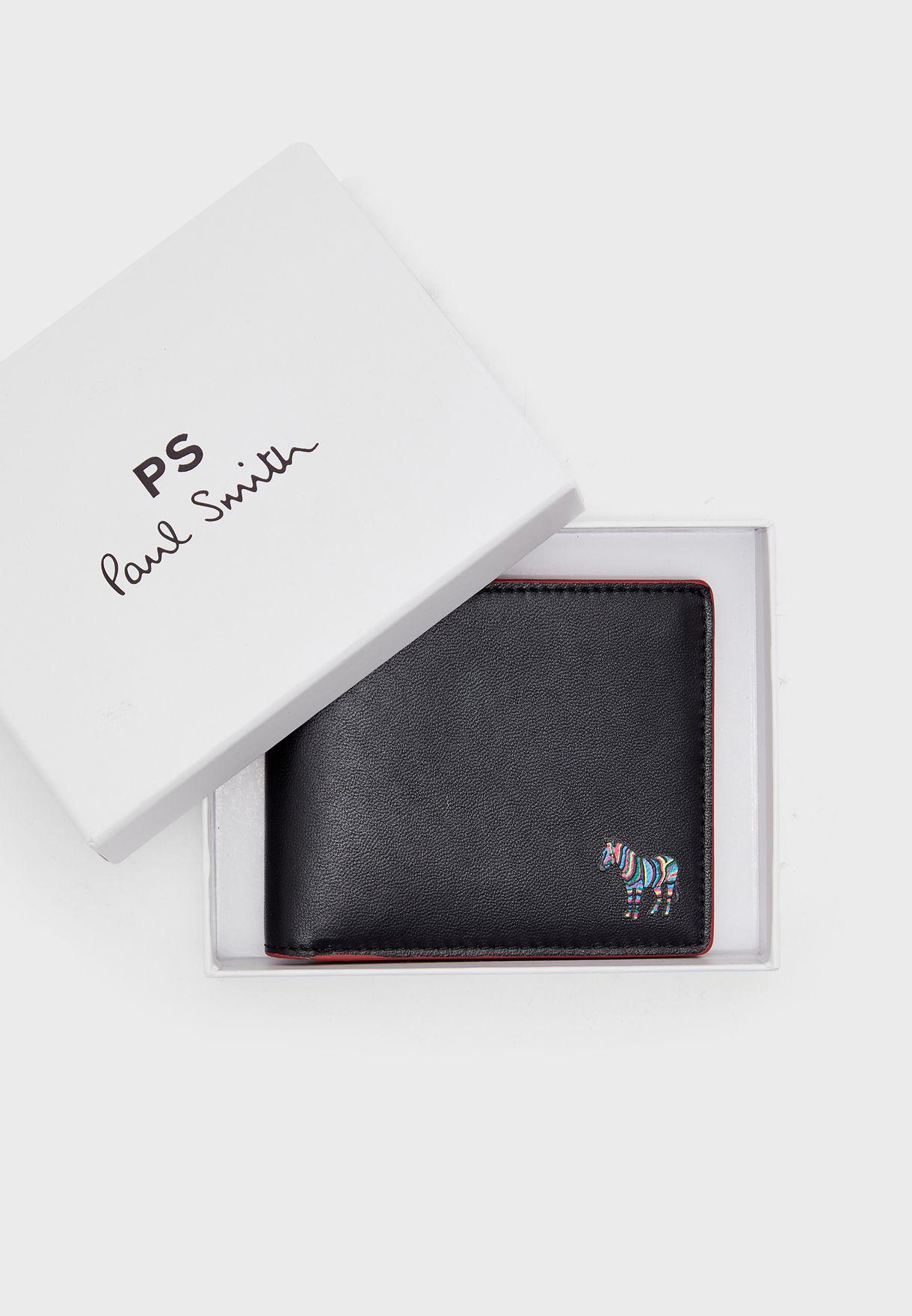 محفظة بطبعة زيبرا