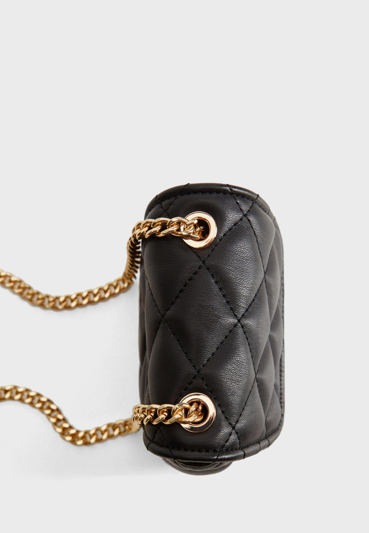 Gaby Quilted Mini Crossbody