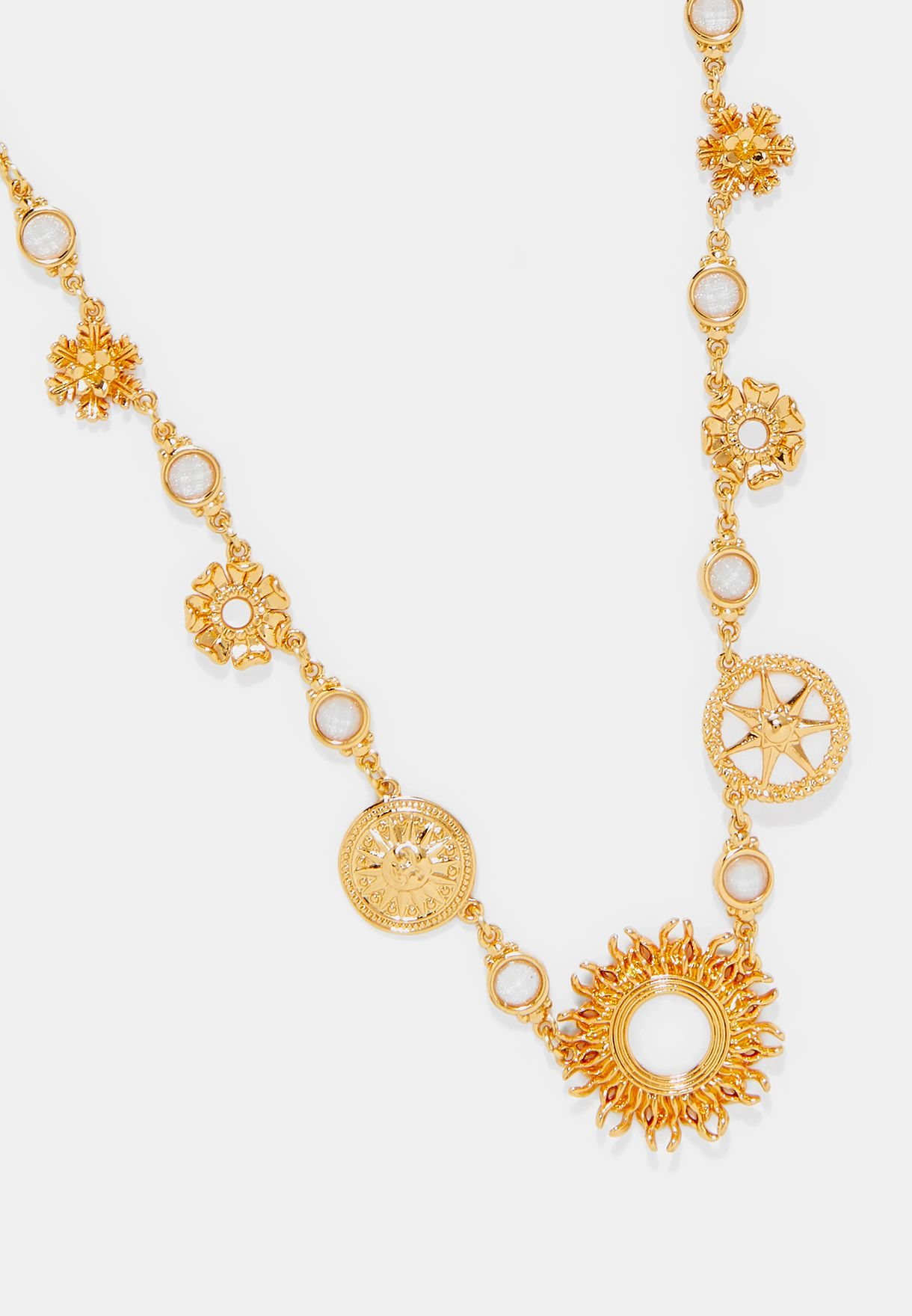 Three Suns Necklace