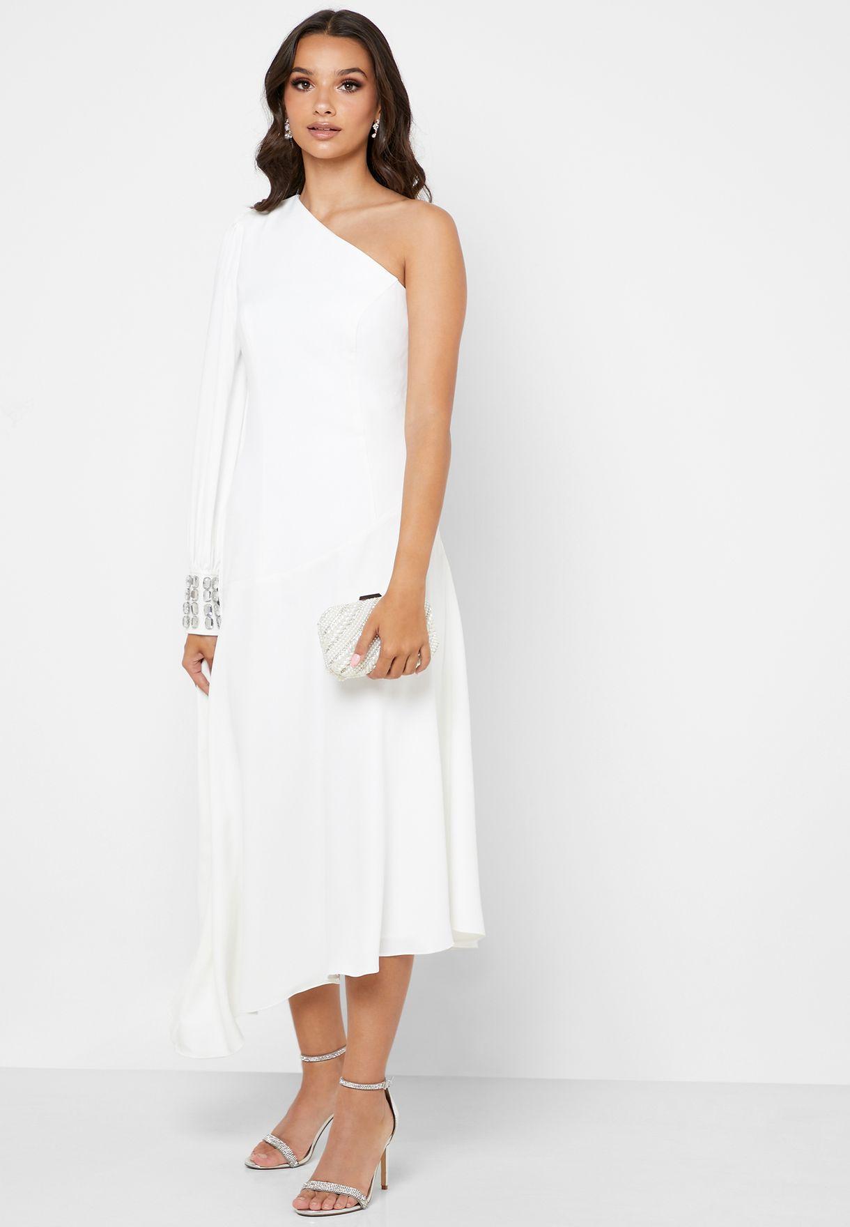 فستان بسحاب جانبي