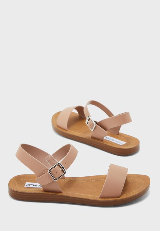 League Flat Sandal
