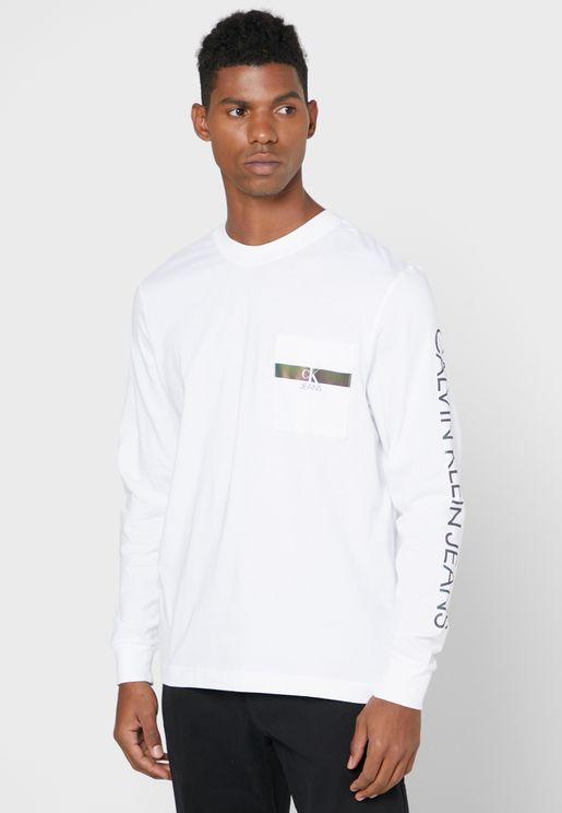 Iridescent Crew Neck T-Shirt
