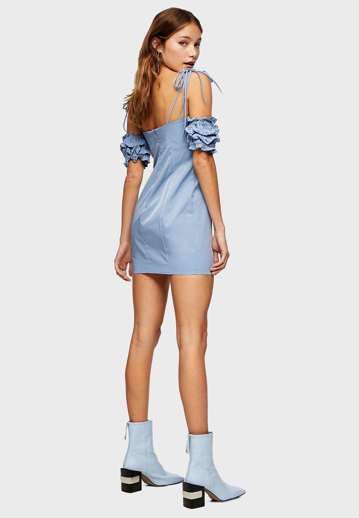 Cold Shoulder Bodycon Dress