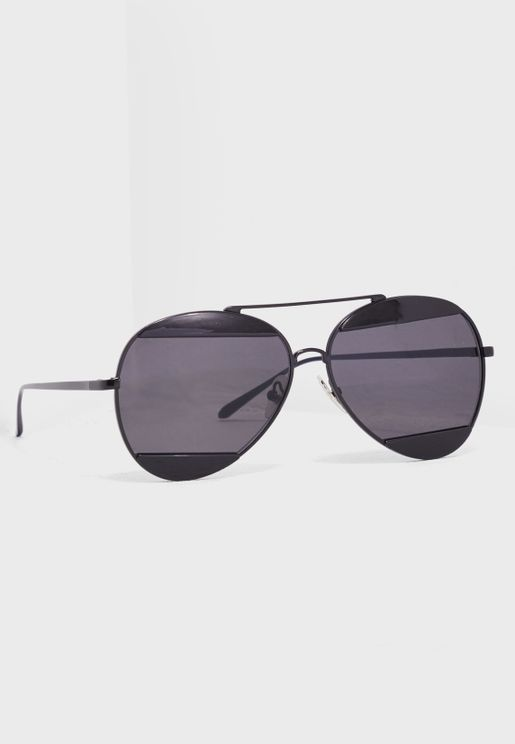 Overbridge Aviator Sunglasses